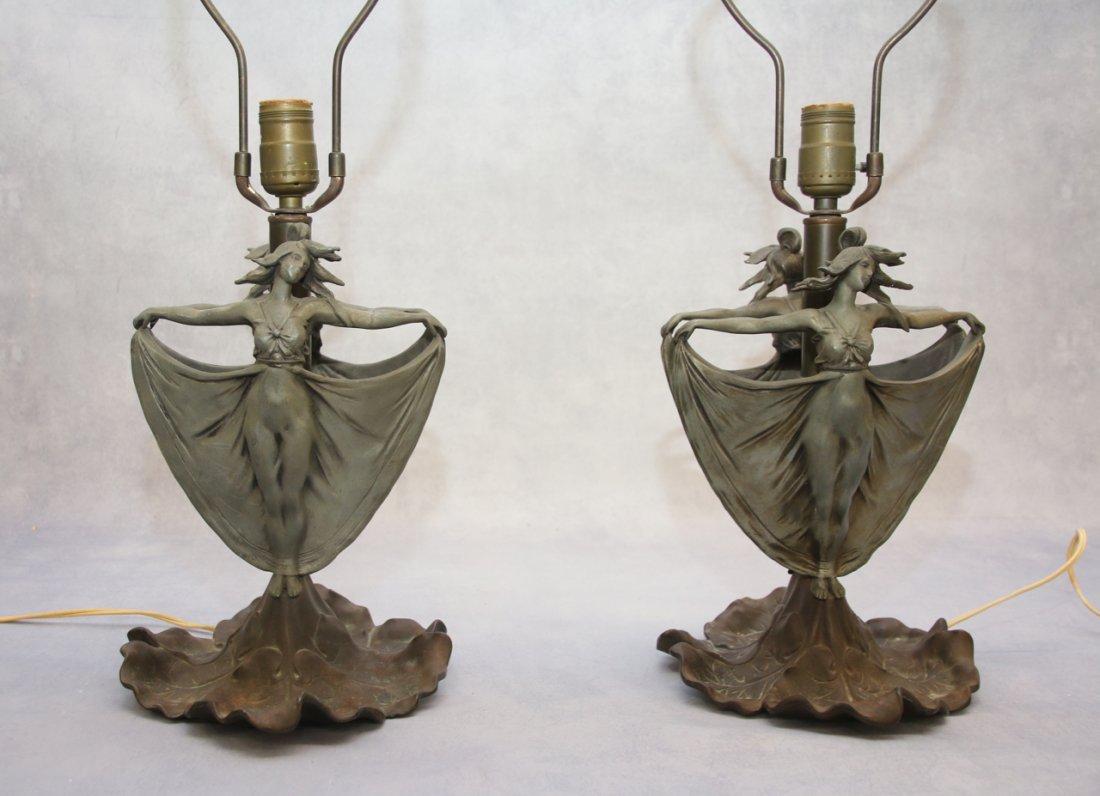 PR. ART NOUVEAU LAMPS