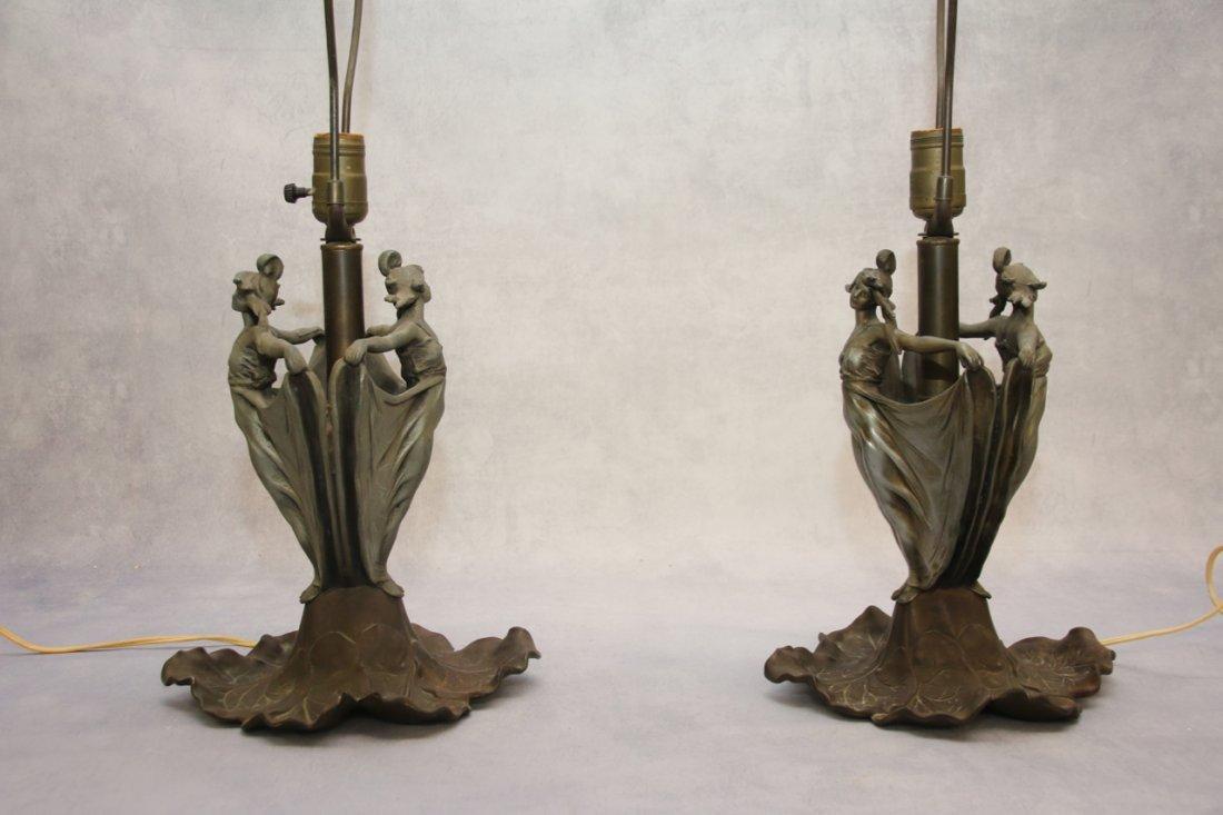 PR. ART NOUVEAU LAMPS - 2