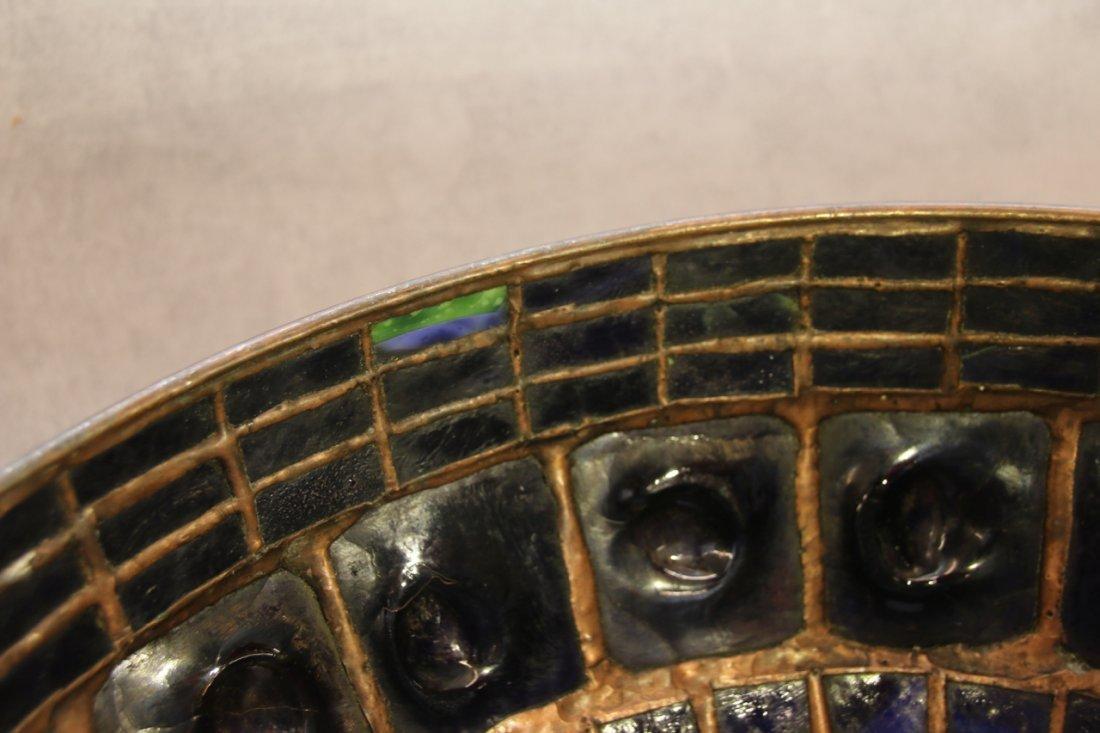 ART GLASS TURTLE BACK TILE SHADE - 2