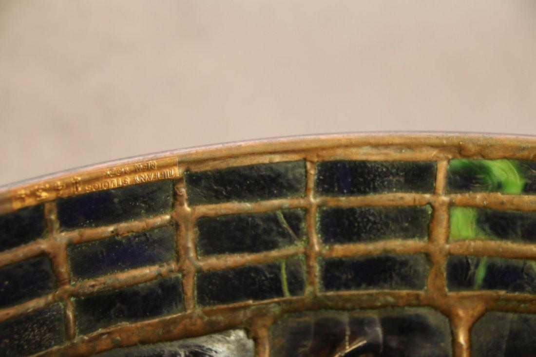 ART GLASS TURTLE BACK TILE SHADE - 4