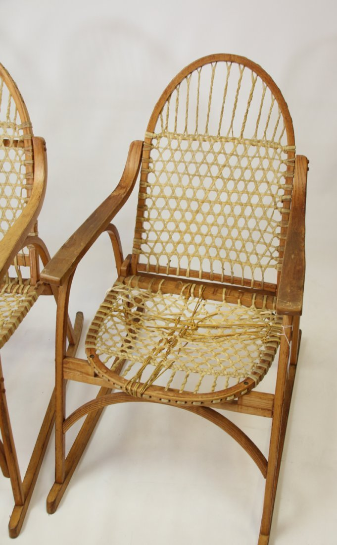SET OF SNOWSHOE STYLE FURNITURE - 2