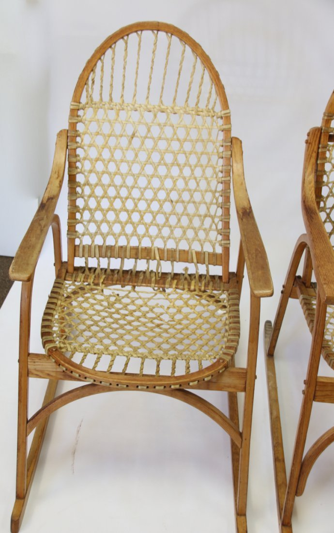 SET OF SNOWSHOE STYLE FURNITURE - 4