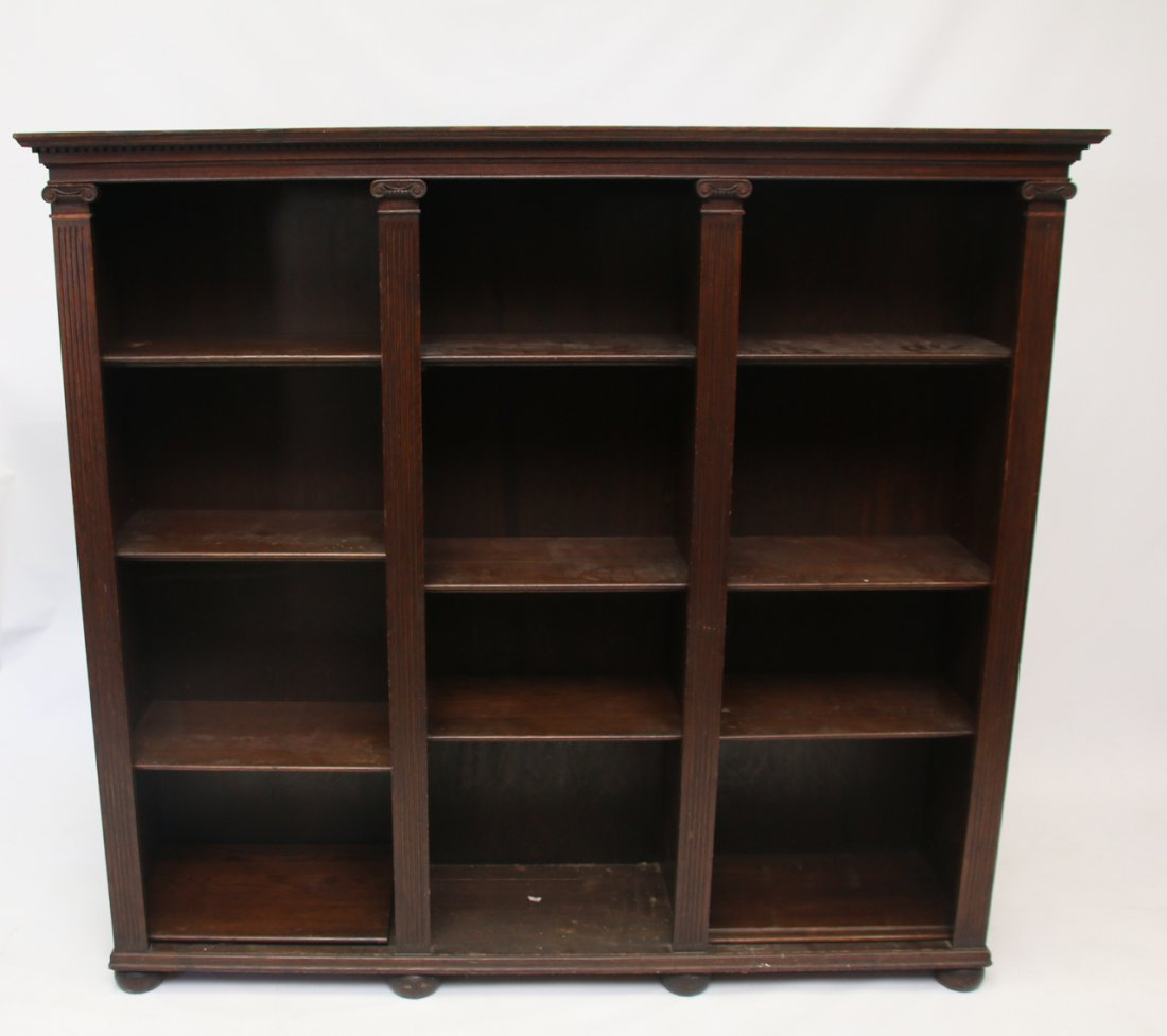 R.J. HORNER AND CO. BOOKCASE
