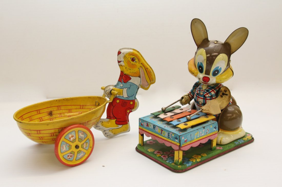 LOT OF TIN LITHOGRAPH TOYS