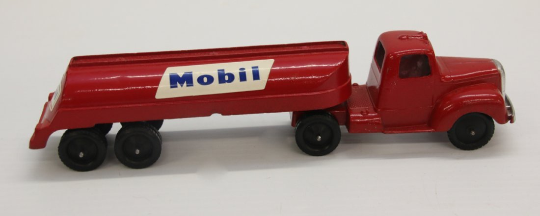 MOBIL GAS TRUCK TOOTSIE TOY