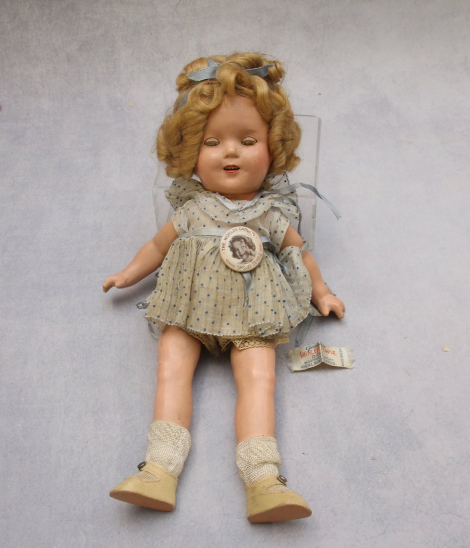 COMPOSITION SHIRLEY TEMPLE DOLL