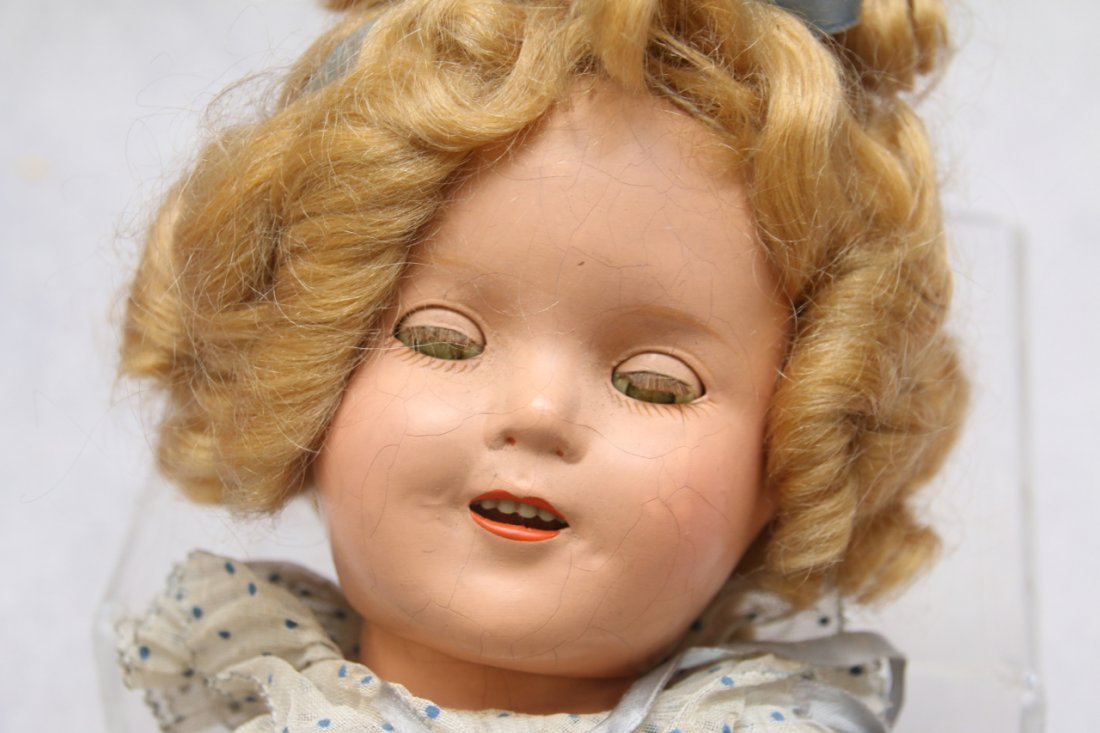 COMPOSITION SHIRLEY TEMPLE DOLL - 3