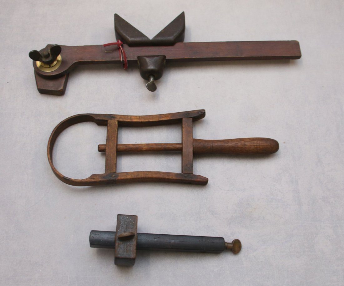 WOODEN TOOL LOT