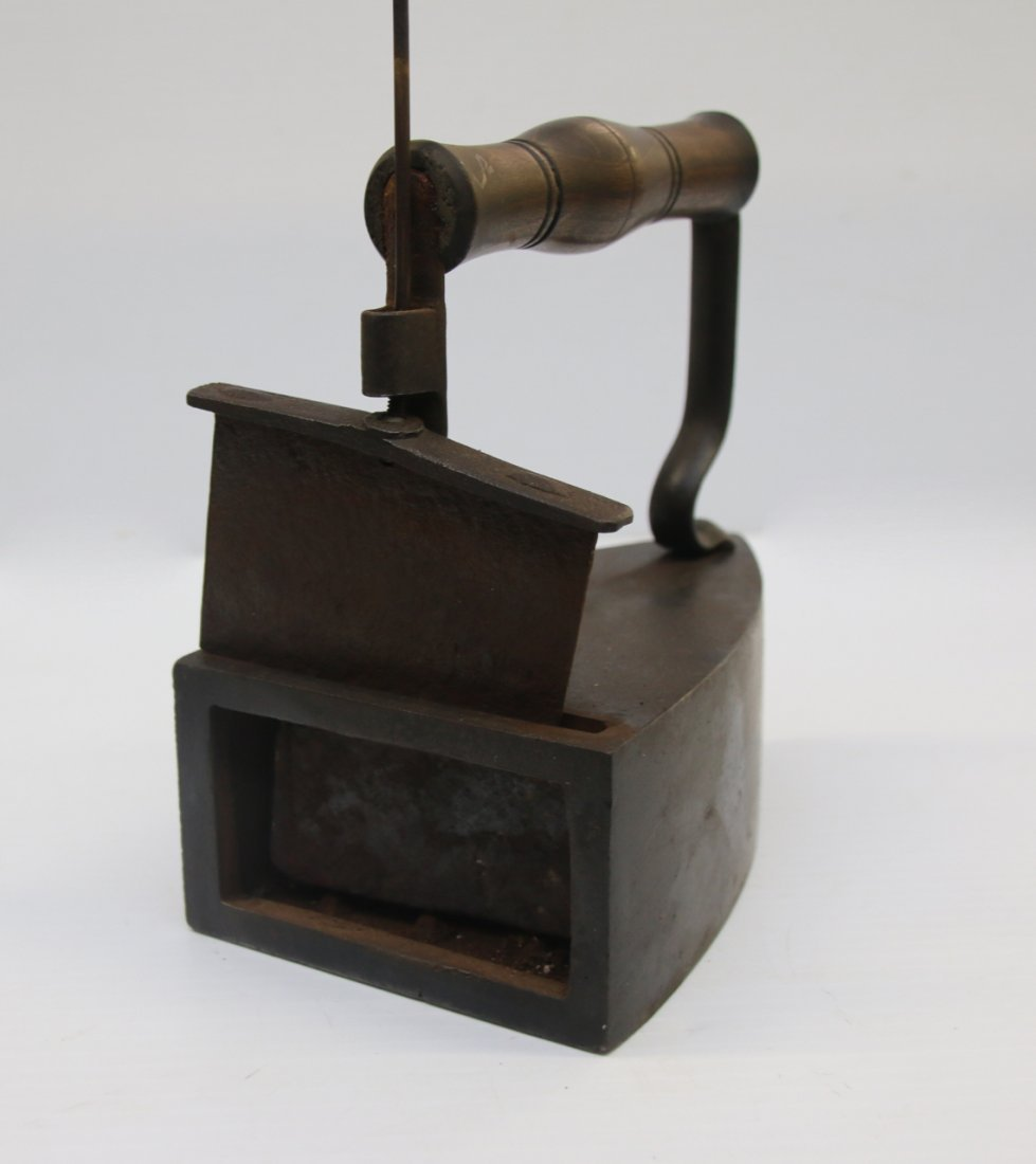 ANTIQUE SAD IRON - 4