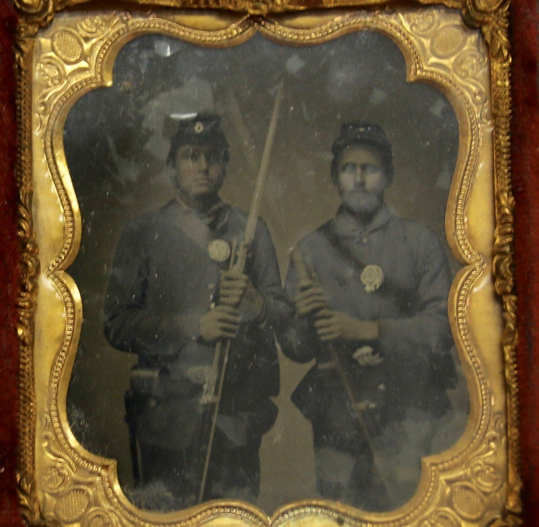 CIVIL WAR AMBROTYPE - 2