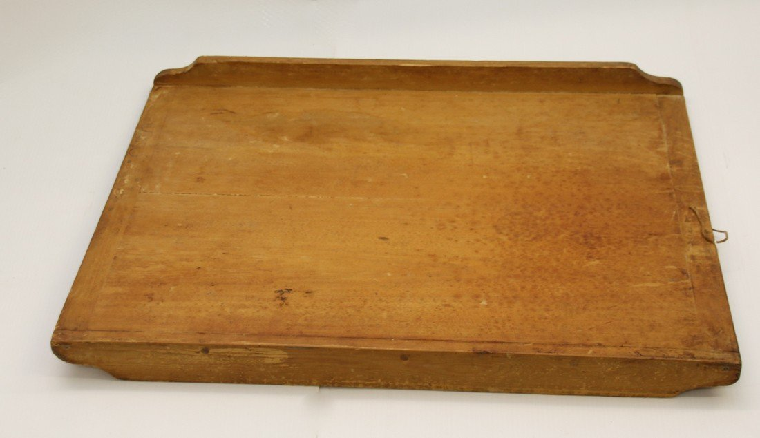 LARGE WOODEN DOUGH BOARD