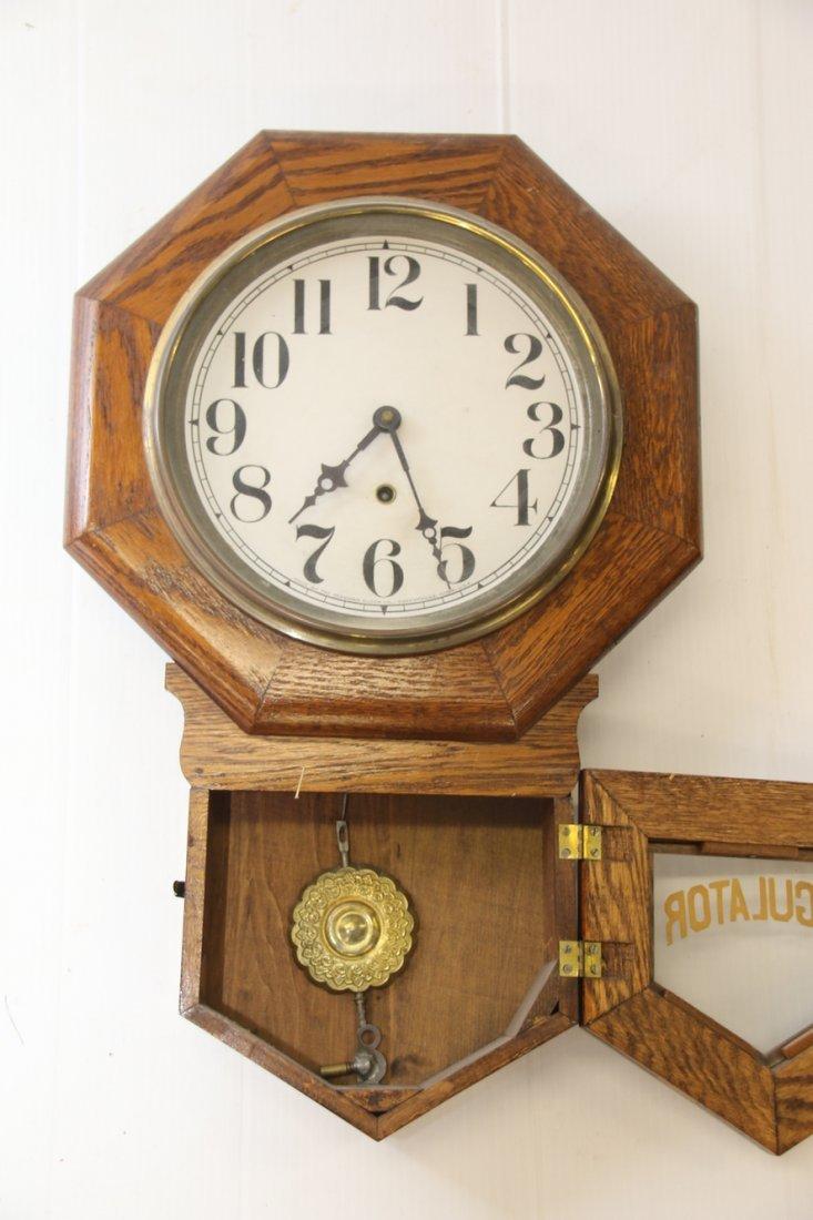 OAK REGULATOR CLOCK - 3