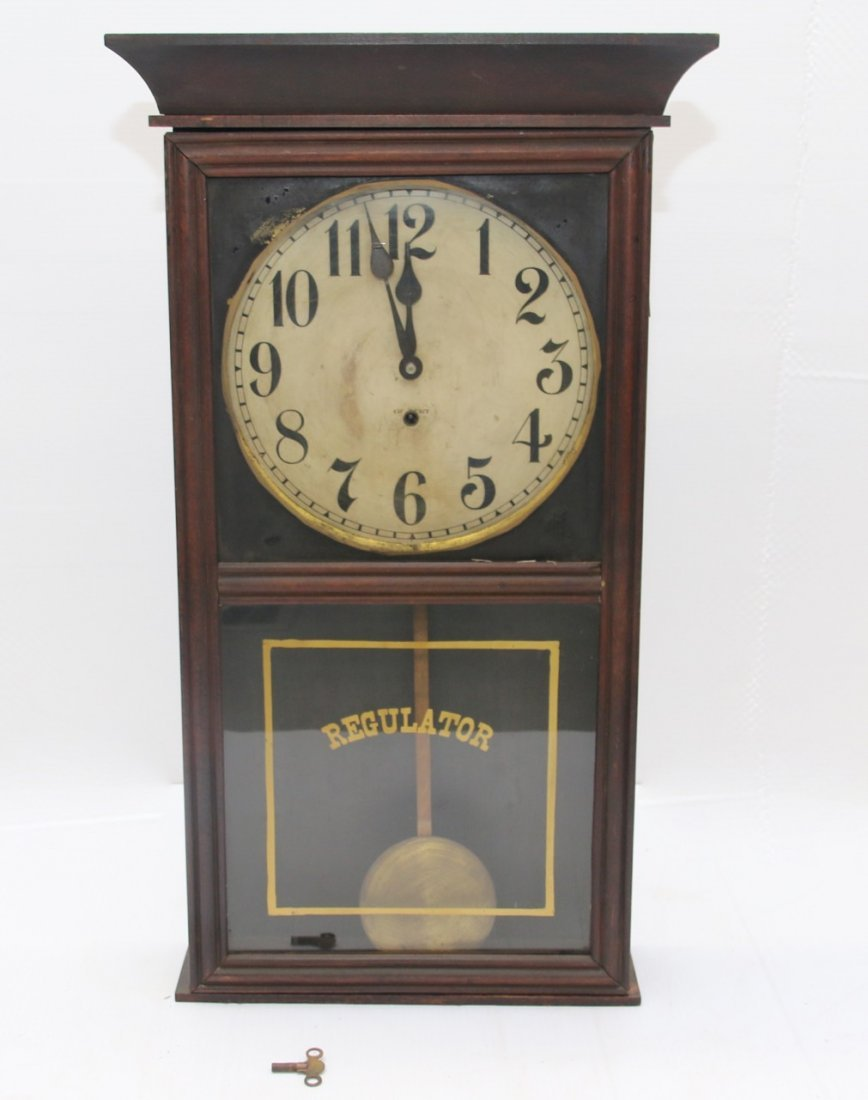 GILBERT REGULATOR CLOCK