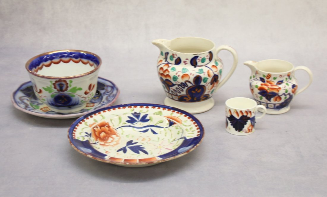 GROUP OF EARLY PORCELAIN