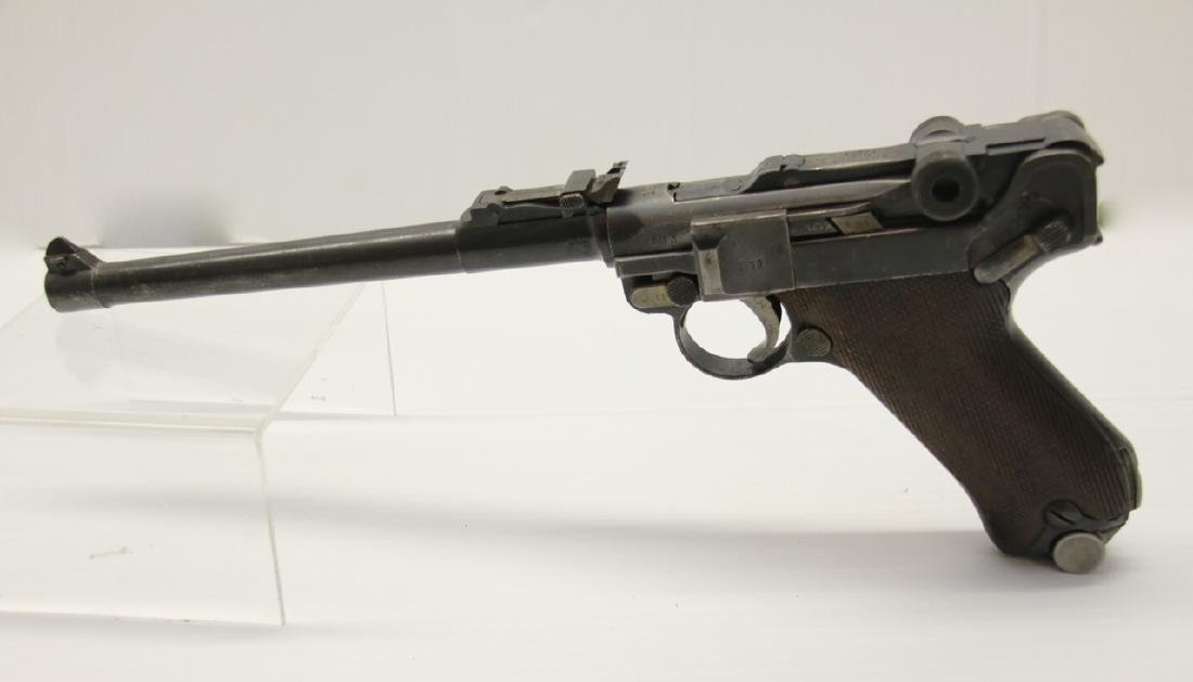 GERMAN ARTILLERY LUGER