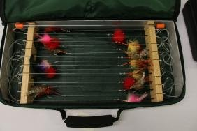 SALT WATER FLY BOX WITH FLIES