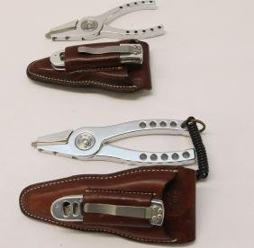 PR. OF ABEL PLIERS AND KNIFE SET
