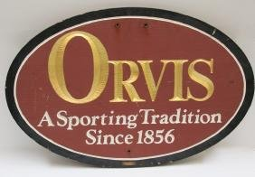 ORVIS TRADE SIGN