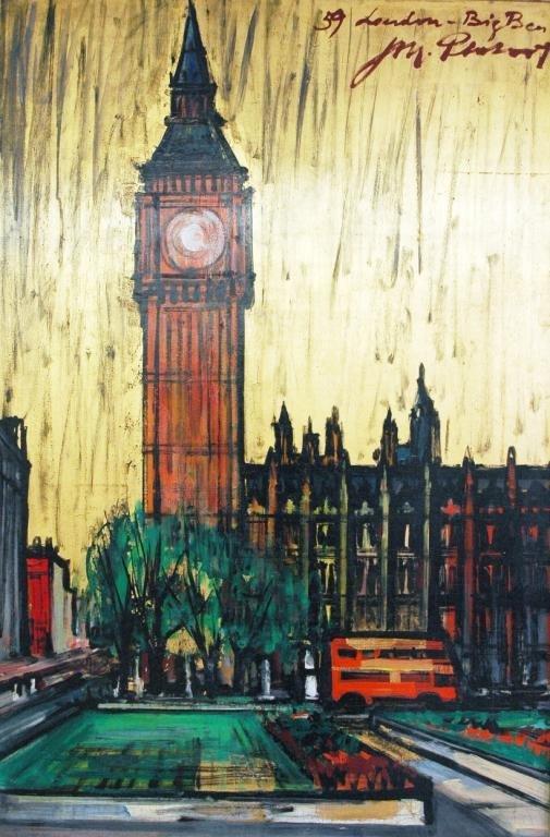 4: PARIS SCHOOL Three Oil Paintings