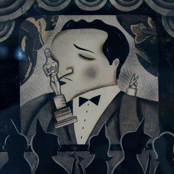 23: O'ROURKE (AMERICAN) Oscar Night Illustration