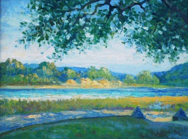 158: SALING (ATTR) (AMERICAN) Farmington River Oil