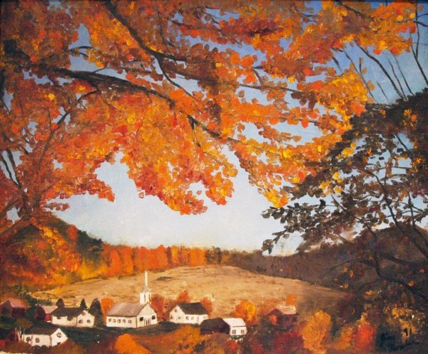 1013: KOPLAR (AMERICAN) Vermont Autumn Oil