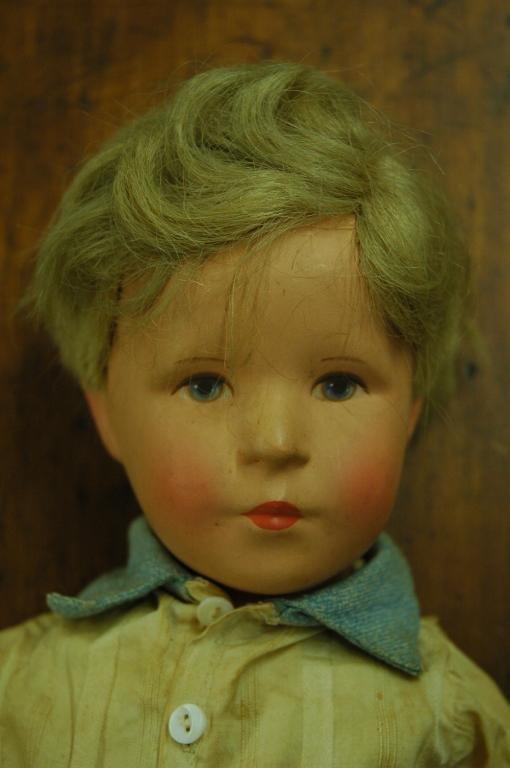 1024: KRUSE (GERMAN) 1952 Hard Head Doll