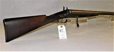 Rare 10 Ga. JD Dougall Shotgun