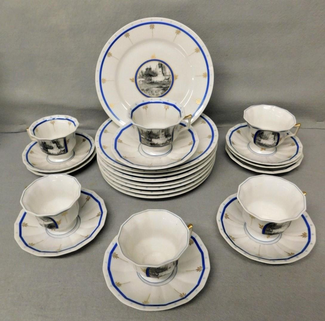 French Limoges Luncheon Set