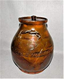 Rare David Mandeville Jar