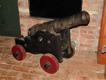 Lg. British Signal Cannon