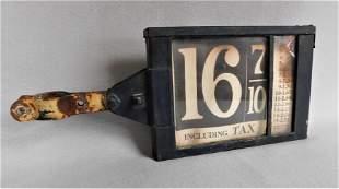 Vintage Gas Pump Sign
