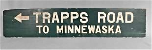 Vintage Wooden Arrow Directional Sign