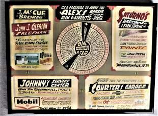 Early 1950's Washingtonville, NY Advertisements