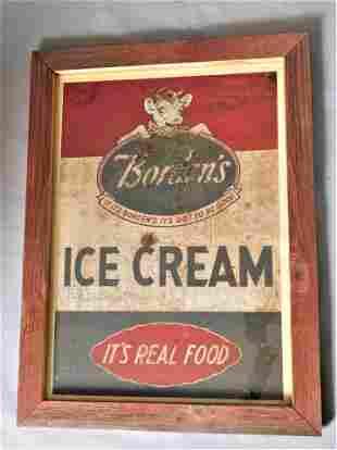 "Vintage Metal ""Borden's Sign"""