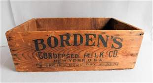 Early Advertising Box