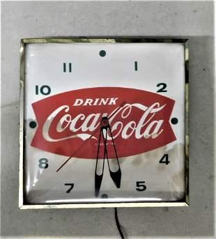"""Vintage""""Coca-Cola"""" Wall Clock"""