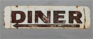 Vintage Metal Diner Sign (Pine Bush?)