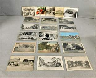 Lot of 19 Vintage Petroliana Postcards