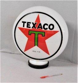 "Early Rare Orig. ""Texaco"" Gas Pump Globe"