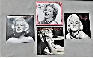Lot of 4 Marilyn Monroe Calendars