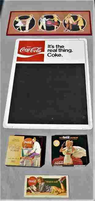 "Lot of 5 ""Coca-Cola"" Collectibles"