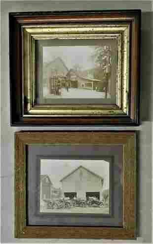 Lot of 2 Early Petroliana PA Photographs