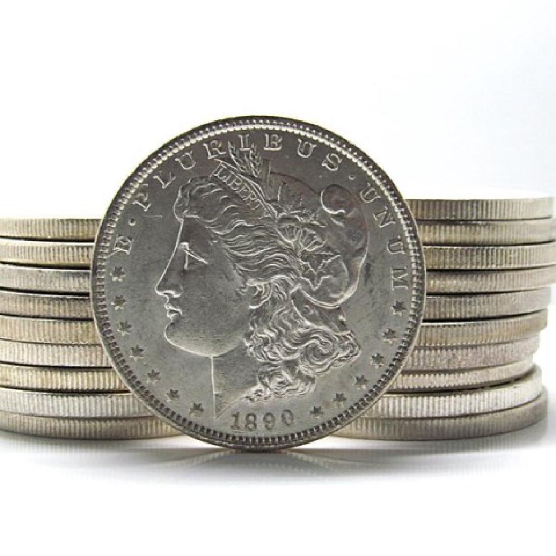 (20) US Morgan Silver Dollars BU Grade-Random