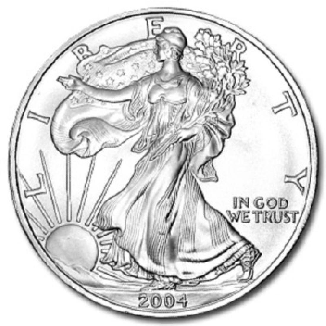 Silver Eagle Bullion Coin- Random