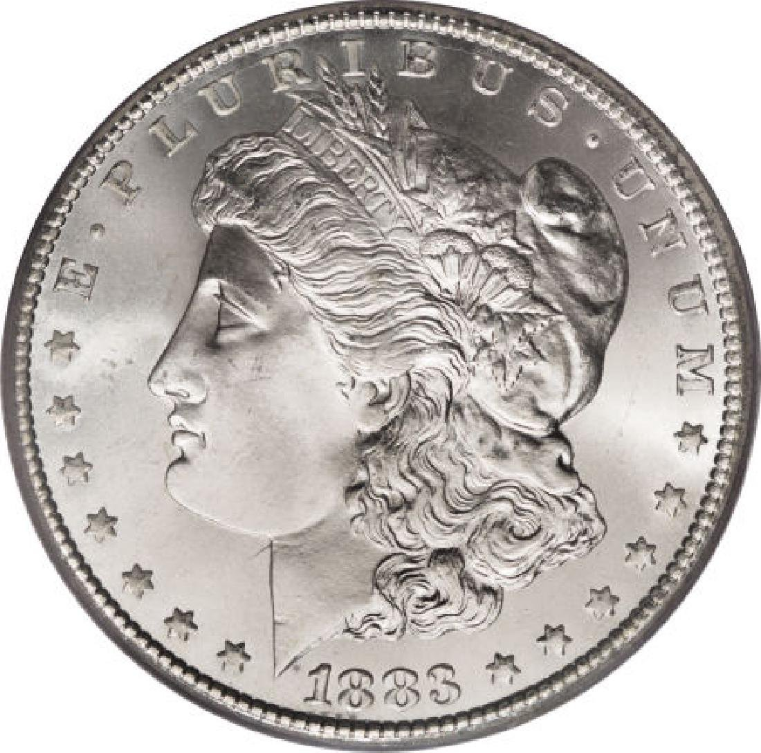 1883 Uncirculated Morgan Silver Dollar