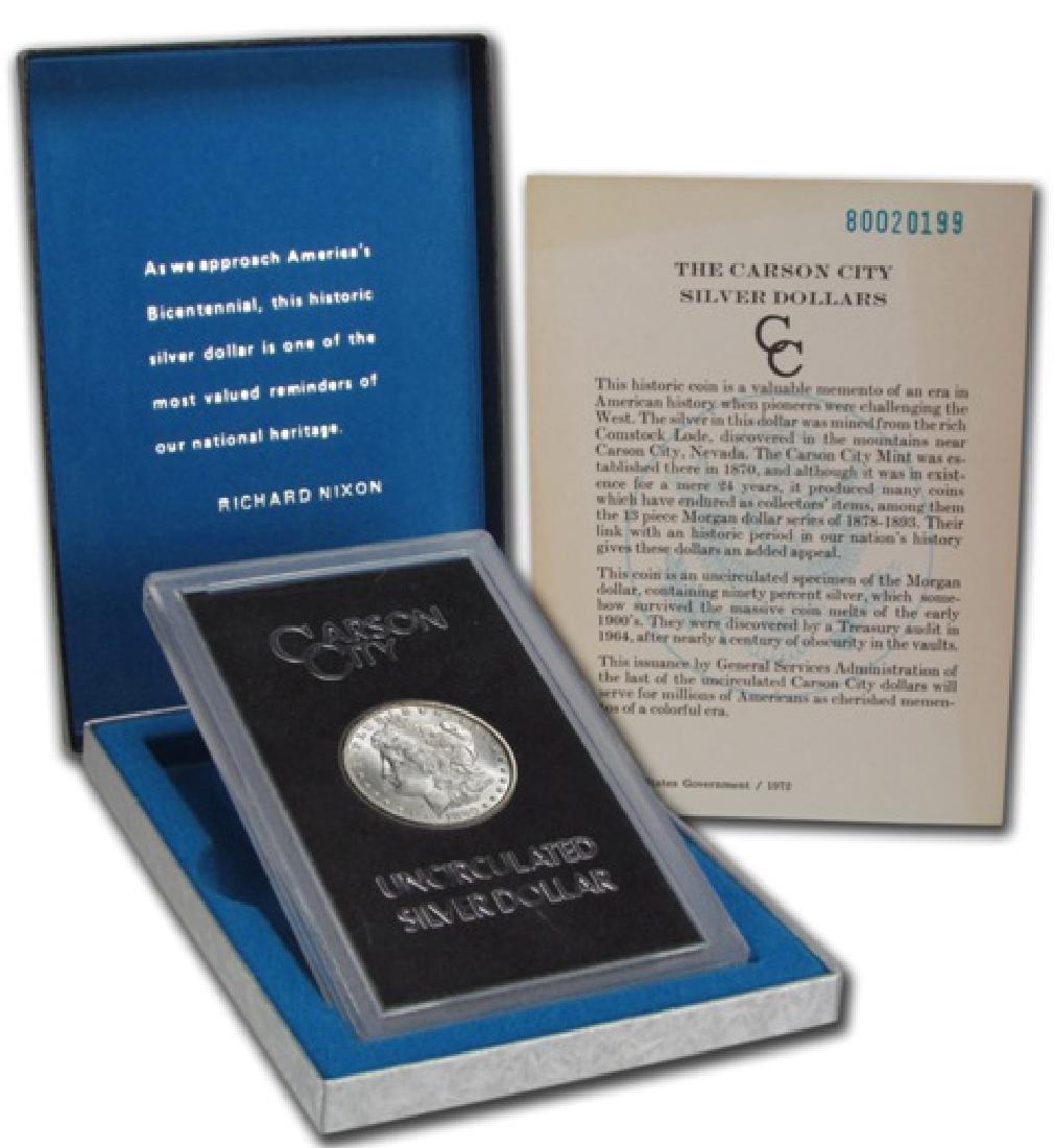 1880- Carson City GSA Key Date Morgan Dollar