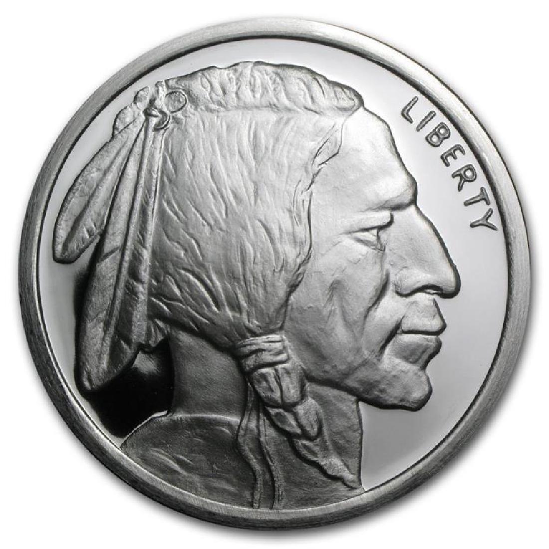 5 Oz. Buffalo Round Pure Silver