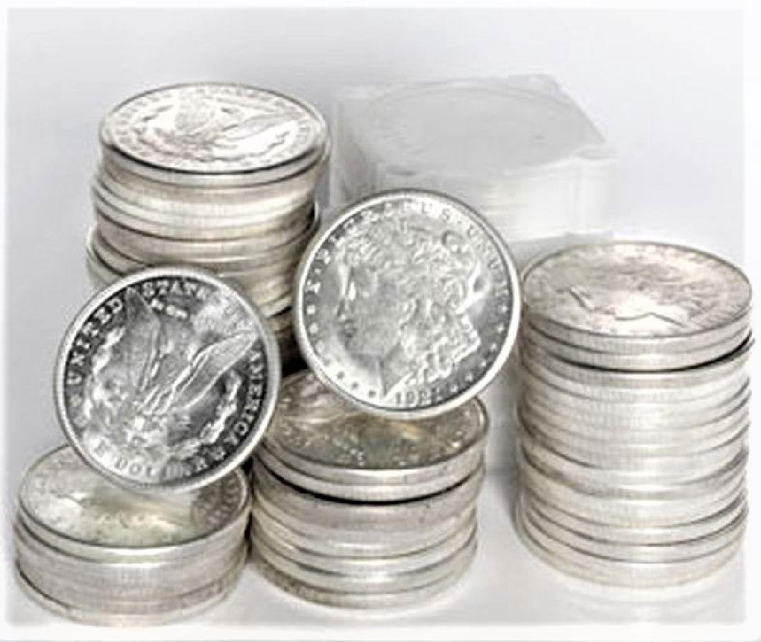 (60) 1921 BU Morgan Silver Dollars -