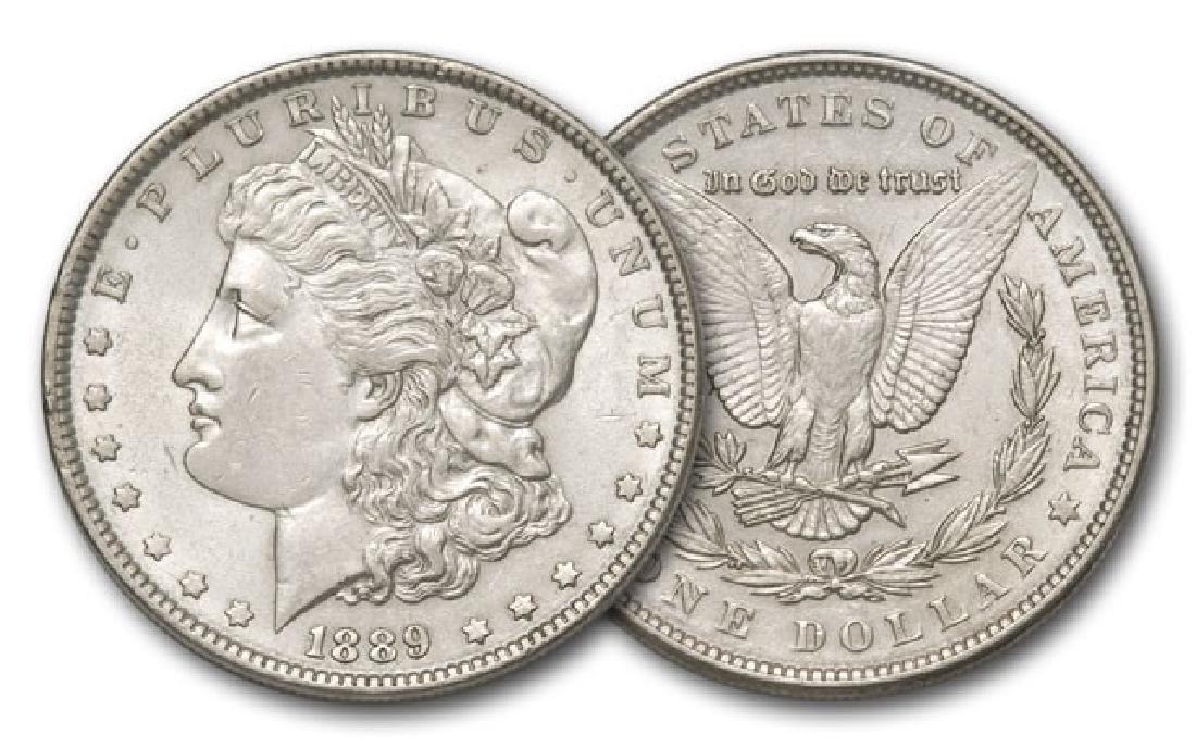 1889 P BU Morgan Silver Dollar